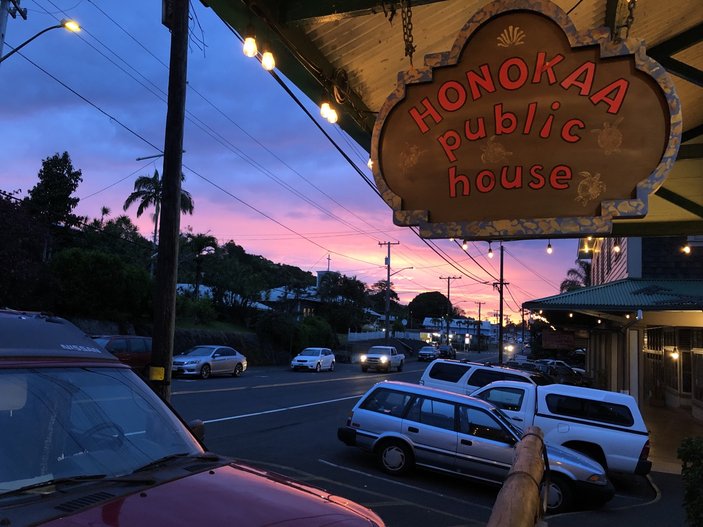Honoka'a Sunset