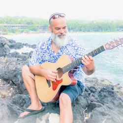 Music at the beach...