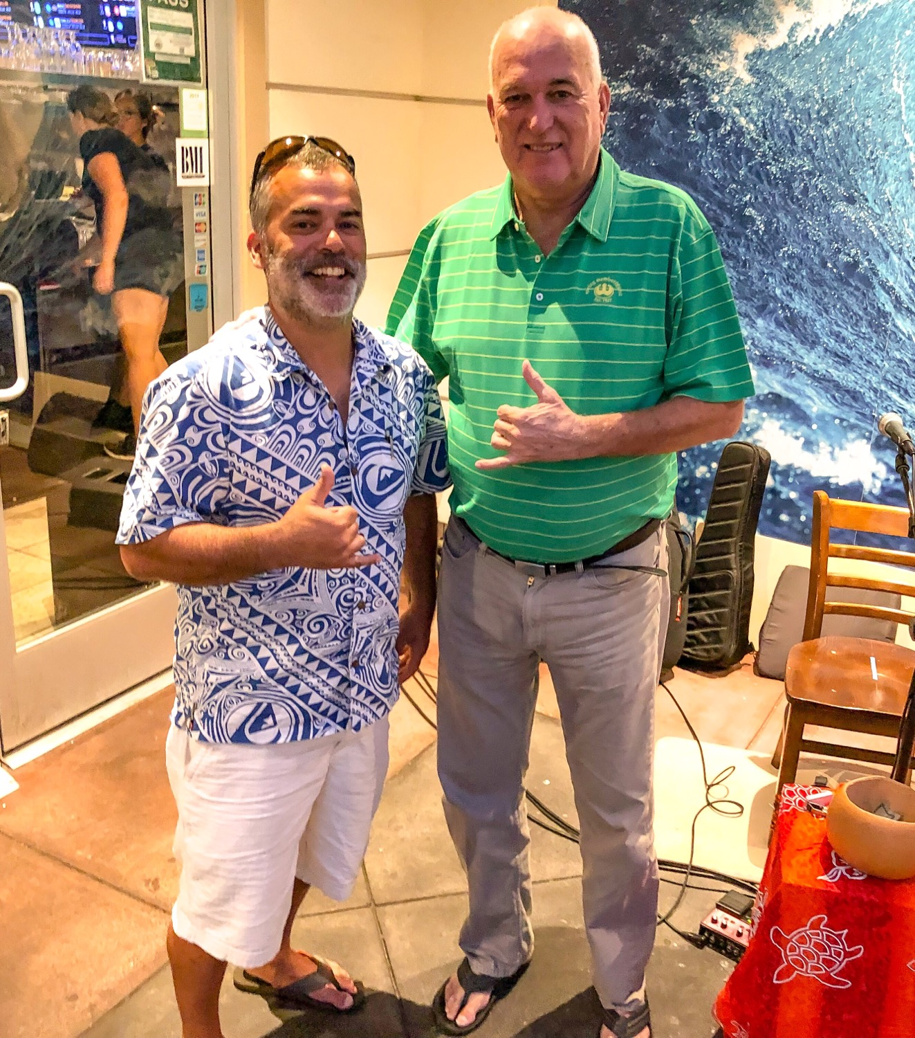 Meeting June Jones