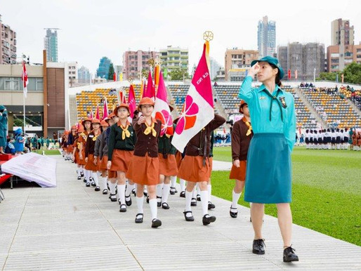 25th November - it's the annual Hong Kong Girl Guide (and Brownie) Parade!