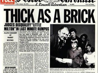 Listening: Thick as a Brick - Jethro Tull
