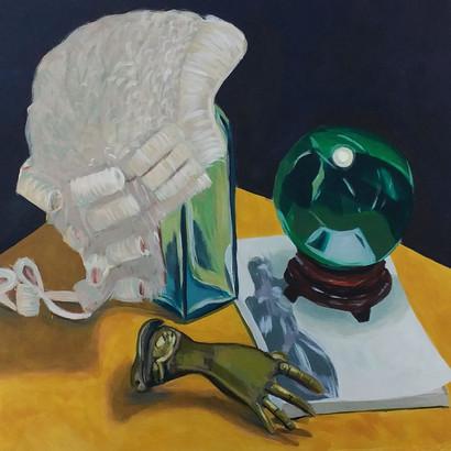 The Law (acrylic on canvas)