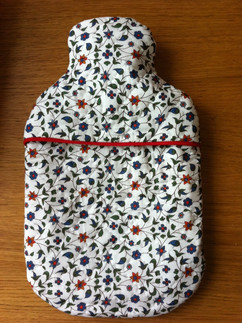 Hot water bottle cover (hand quilted)