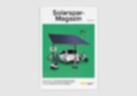 Vereinsmagazin Solarspar Cover