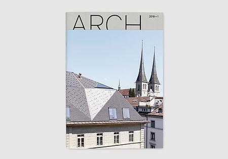 Fachmagazin Arch Cover