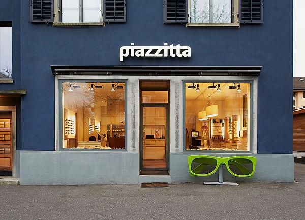 Piazzitta Optik Geschäft Albisriedestrasse