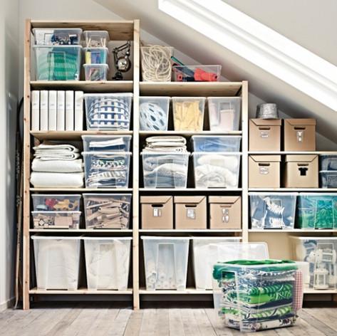 Home organising (organisation du logement/local)