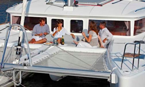 Grupo en cubierta