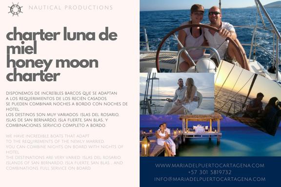 honey moon - lun de miel - barcos - boats - cartagena