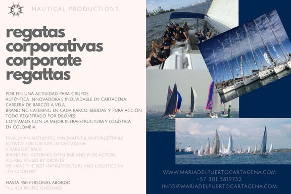 Regata Corporativa - Veleros Cartagena - Sailboats Race