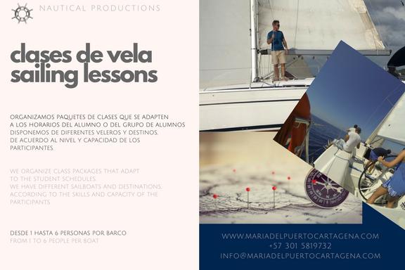sailing lessons - clases de vela - cartagena