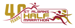 St Albans Half 40 Year Logo.png