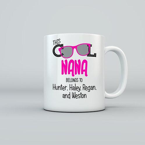 """Cool """"NANA"""" Mug (Personalized)"""