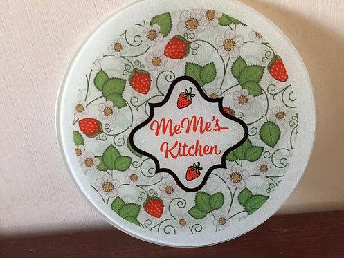 Strawberry Cutting Board