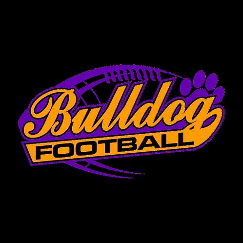 Bulldog Football tee