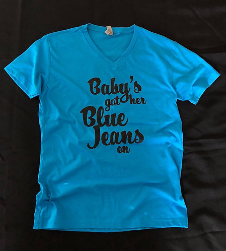 Baby's Got Her Blue Jeans Tee