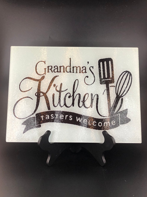 Tasters Welcome Cutting Board (Personalized)