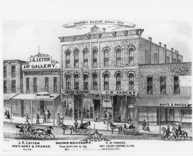 Drapers Block still standing on Broadway after 141 years