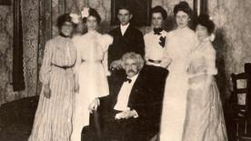 Educator Leolia Reynolds met with Mark Twain in 1902