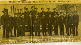 June 1939: Hannibal's three companies of fire fighters