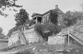 Historic cliff-side house has many stories to tell