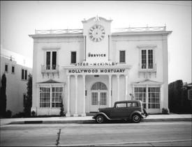 O'Donnells opened mortuary on LA's famed Sunset Strip