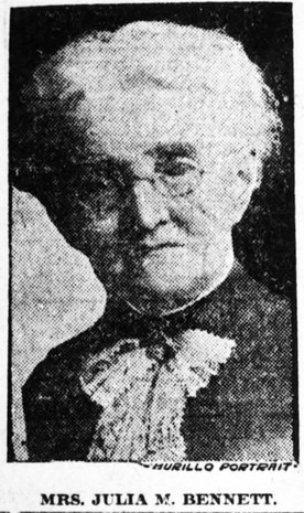 Julia M. Bennett led way for women in journalism