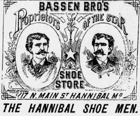 Bassen Bro's, early shoe proprietors