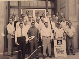 1950s: Budweiser Sales Service School
