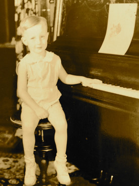 As a 4-year-old musical performer, Walt Chandler was an admitted 'show off'