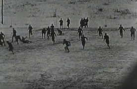 Video 1936: Thanksgiving Day football grudge match, Hannibal High vs Quincy