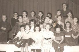 Third graders, 1958
