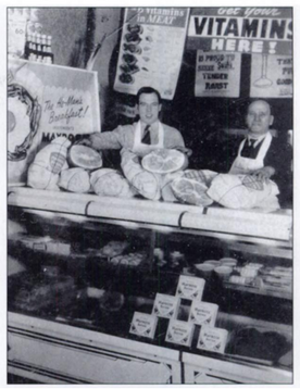 Russian immigrants operated corner grocery serving mid town residents of Hannibal