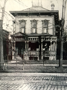 Can you help locate this historic house in Cleveland, Ohio?