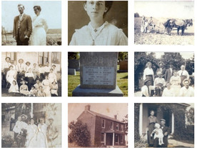 Rigney/Robbins family of Route 1, Hannibal, Marion County, Missouri