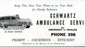 1967: Undertakers announce plans to discontinue ambulance service