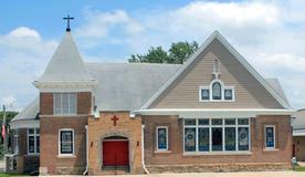 Here's the Macon (Missouri) Methodist Church