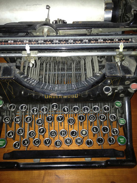 1937 Underwood typewriter