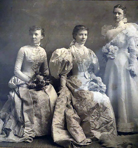 Bridal trio photo represents glimpse into Hannibal's past