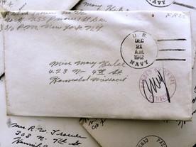 World War II letters find rightful home