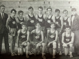 HHS cross country squad 1969