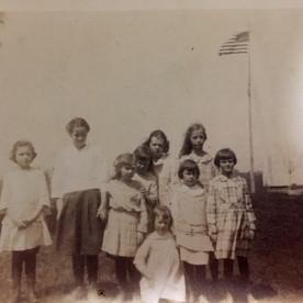 Patriotic day at rural Turner School