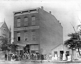 Studebaker associate unscathed during 1881 H&St. Joe derailment