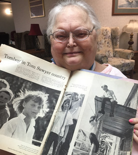 Donna Toalson's 'tomboy' spirit captures national attention: 1957