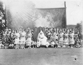 In 1931, Eugene Field School students presented May Fete