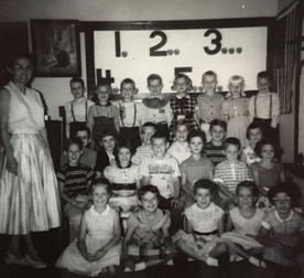 First graders, 1957-58