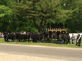 May 2, 2015: 150th anniversary re-enactment of the Lincoln Funeral Procession, Springfield, Ill.