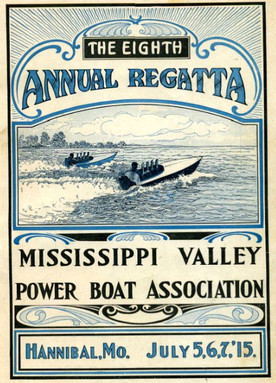 1915: Powerboat racing attracted large crowds to Hannibal's riverfront