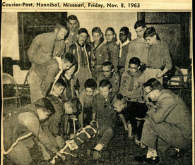 1963 Boy Scout training