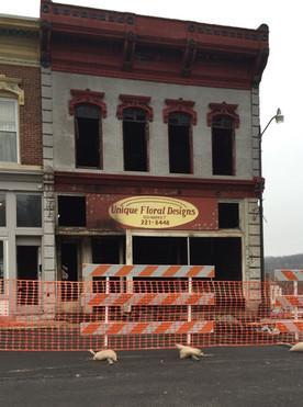 Spectacular Christmas Eve fire guts historic Hannibal building